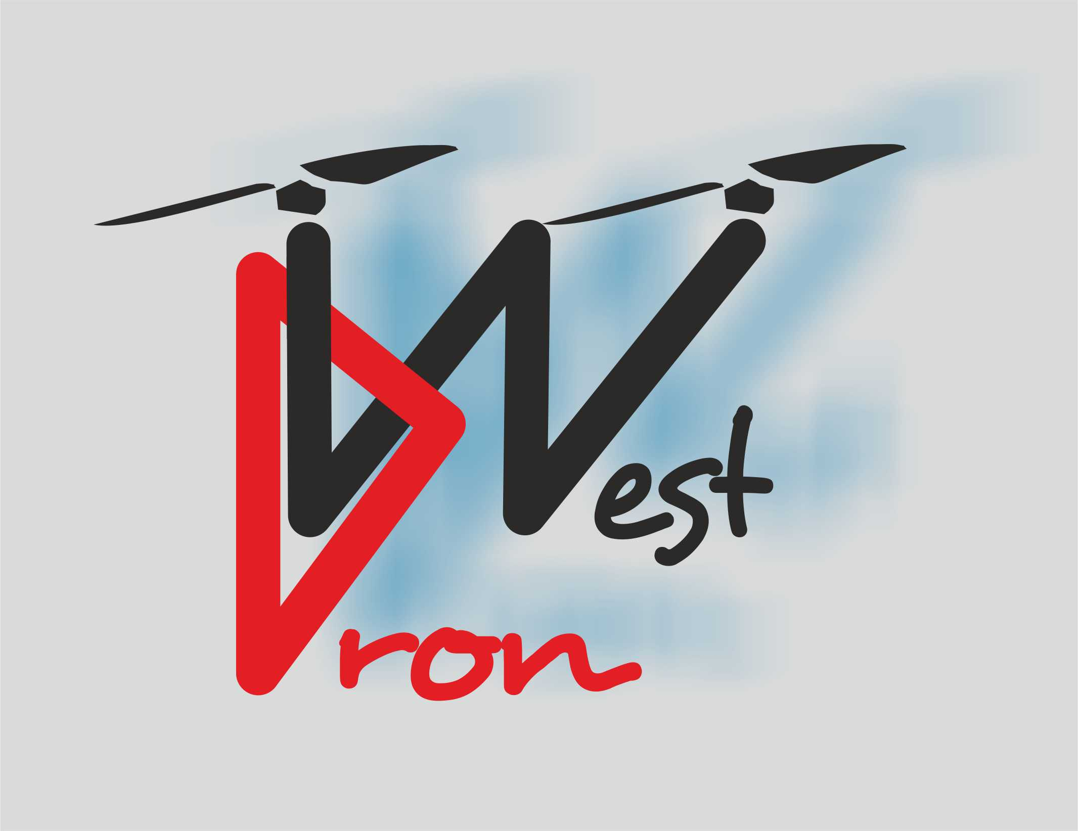 logo dron west